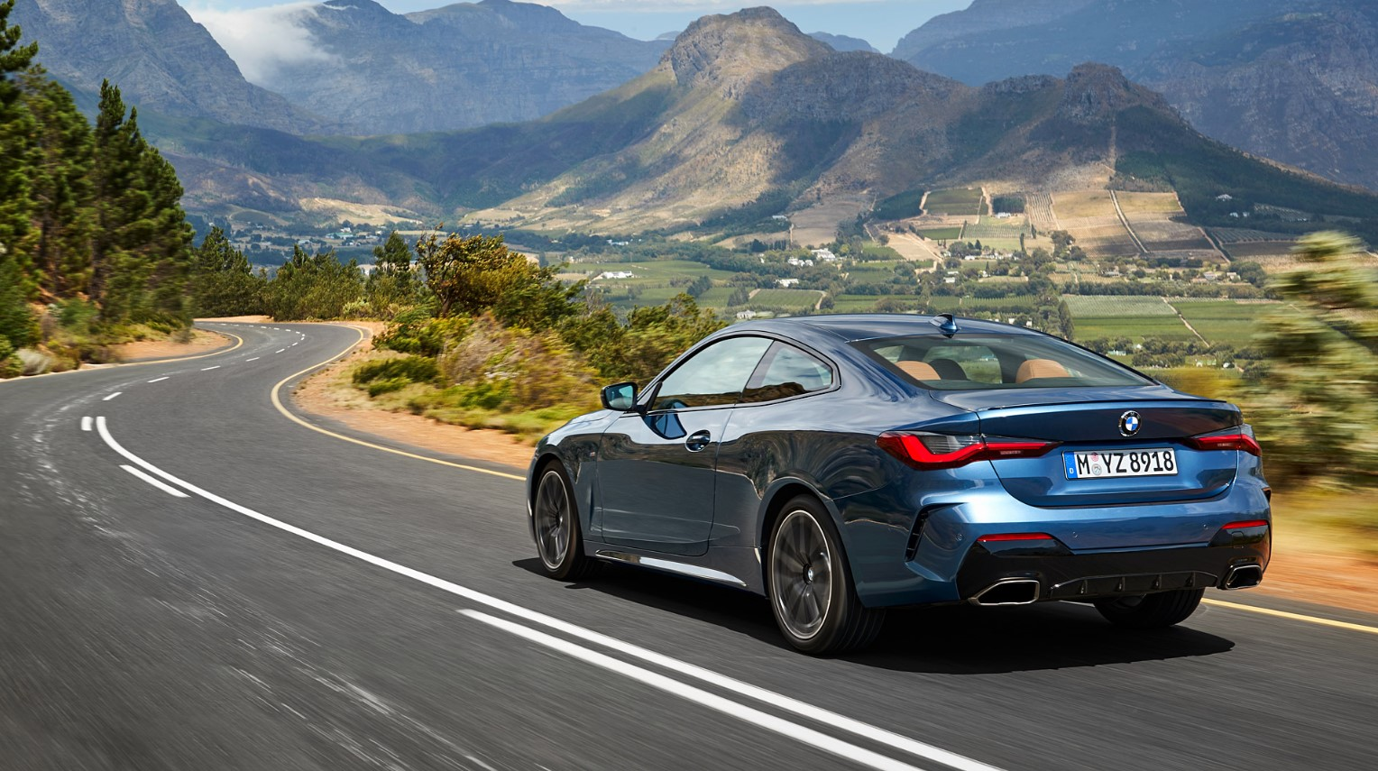 2021 BMW 4 Series Specification Change