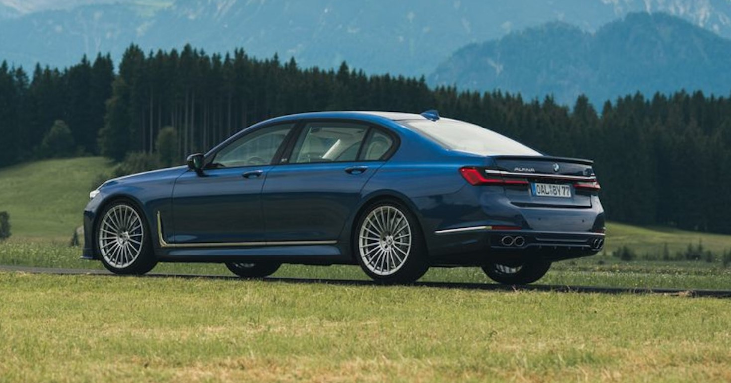 2022 BMW Alpina B7 Transmission, Specs