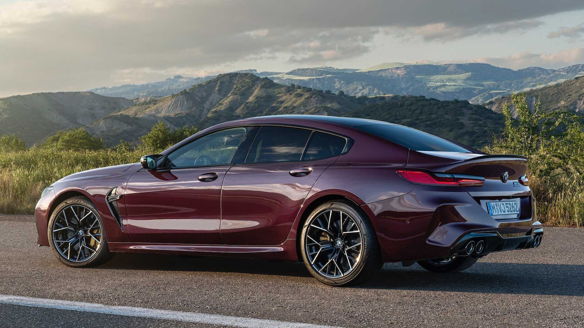 BMW M8 Gran Coupe: A Fire-Breathing Four-Door With Up To 617 HP
