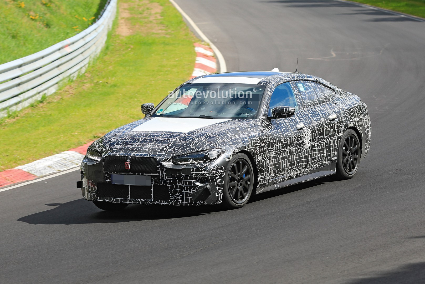 2022 BMW 4 Series Gran Coupe Spotted Testing M Parts at the ...