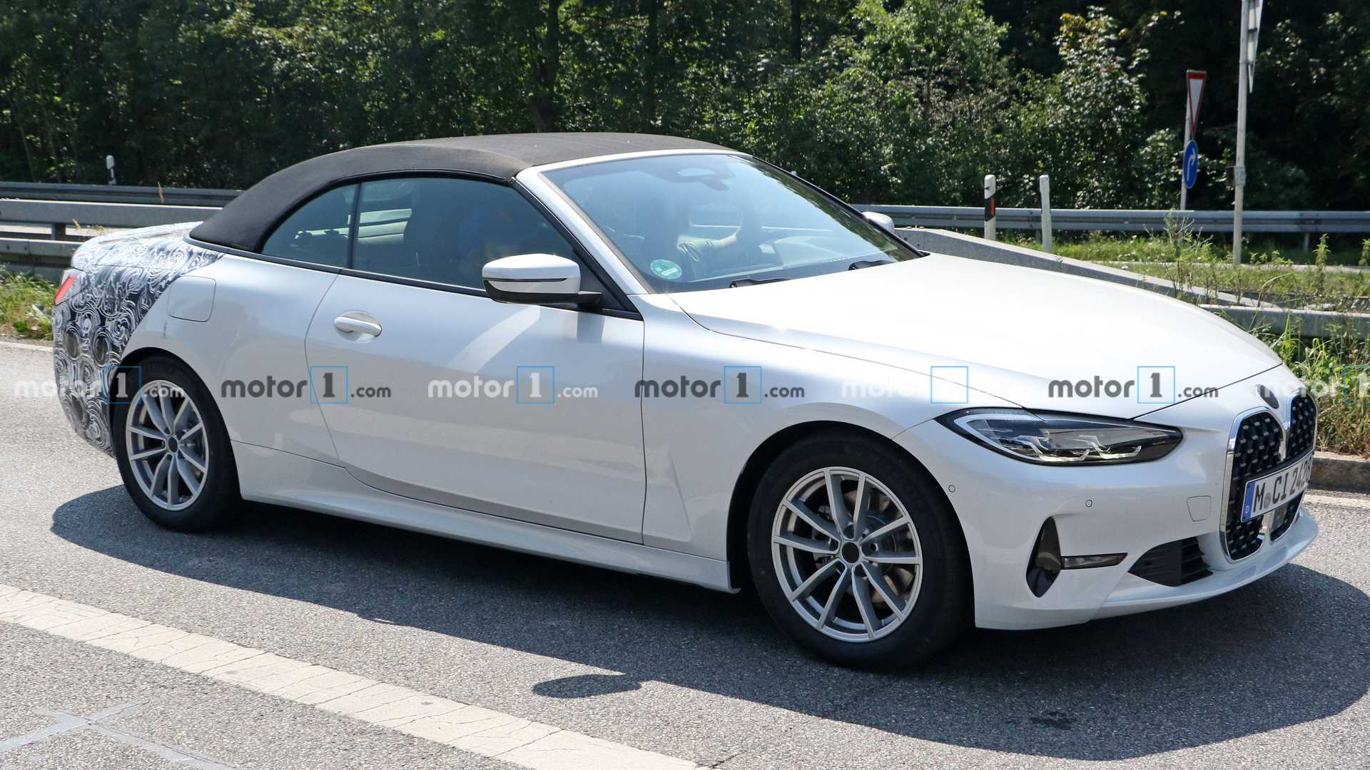 2021 BMW 4 Series Convertible All But Revealed In New Spy Shots