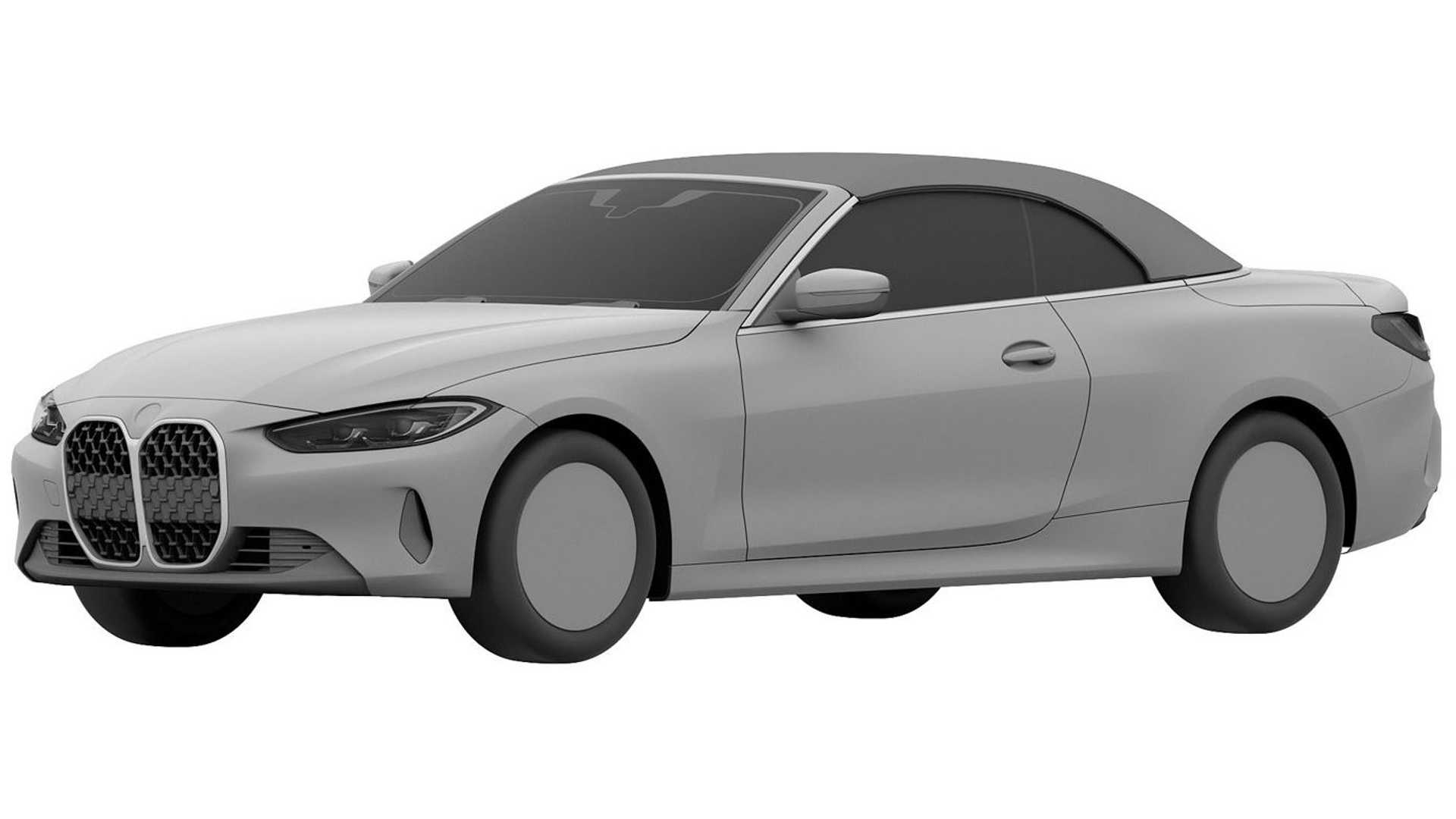 2022 BMW 4 Series Convertible Leaks Out Via Chinese Patent ...