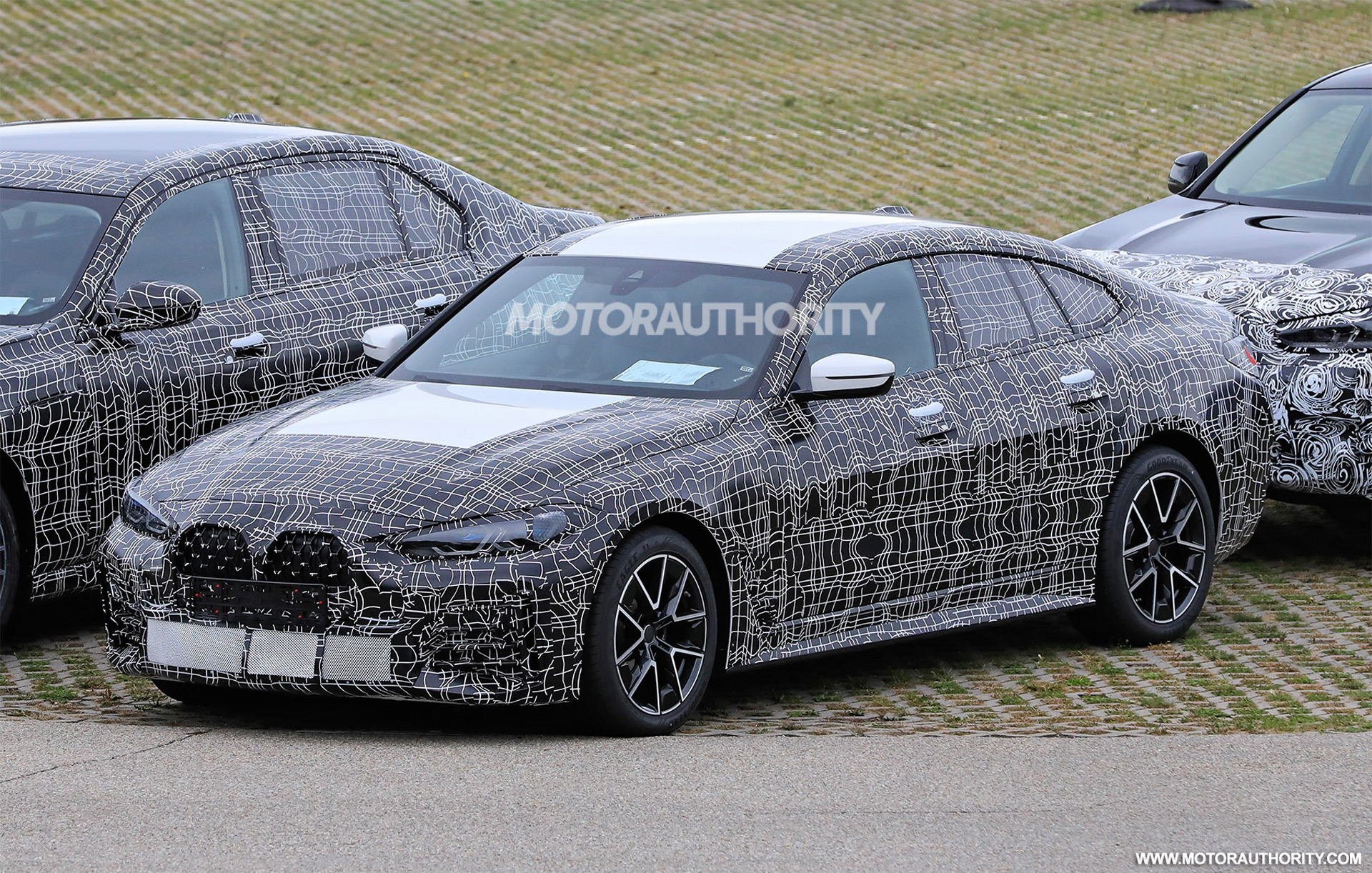 2022 BMW 4-Series Gran Coupe spy shots: New four-door coupe ...