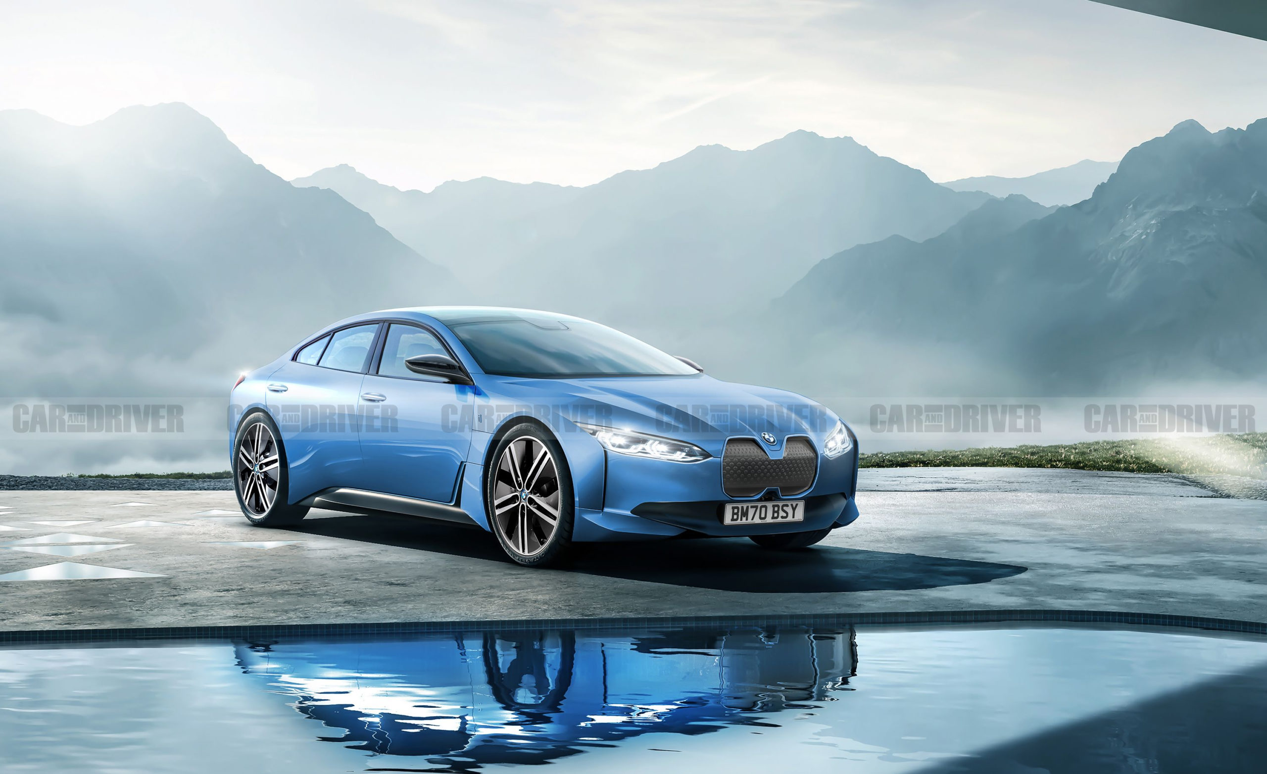 2022 BMW i4 – New Electric Sports Sedan