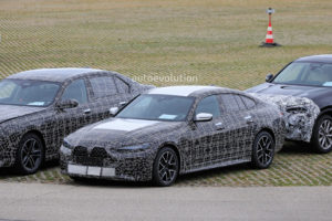 2022 BMW 4 Series Gran Coupe Spied With Giant Grille, Looks ...