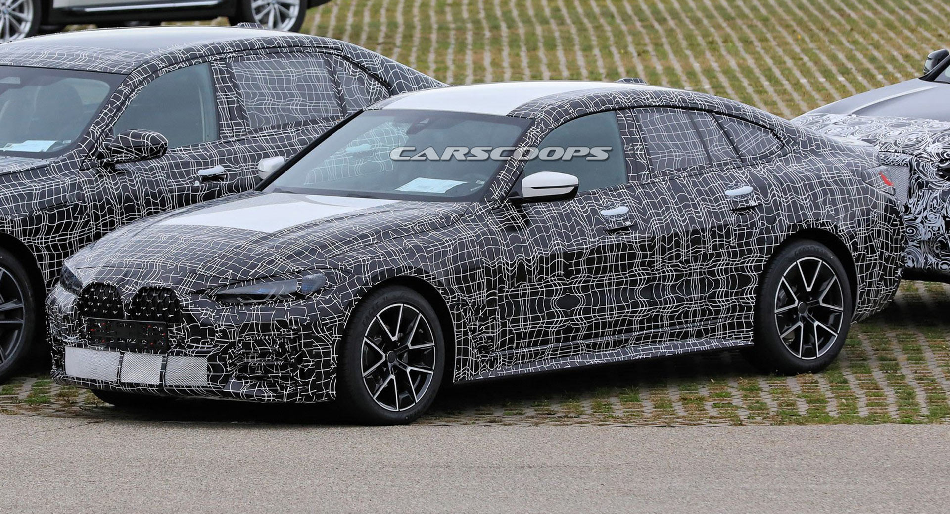 2022 BMW 4-Series Gran Coupe Spied With Massive Grille And ...