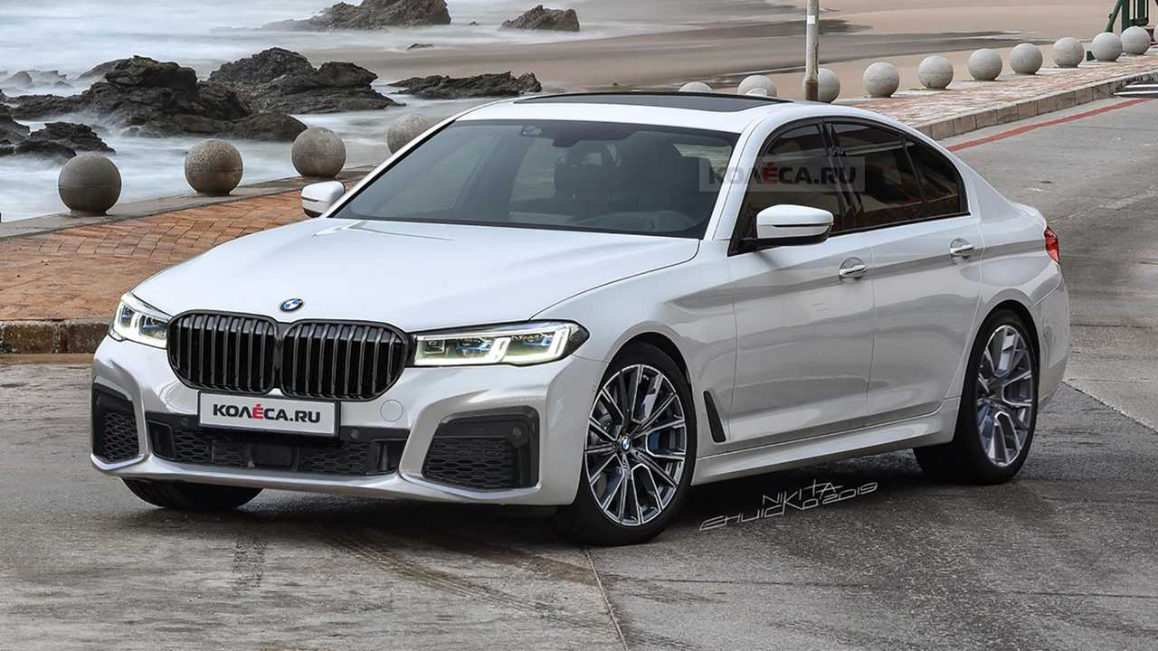 BMW 5 Series Mid-Cycle Refresh Imagined In New Rendering