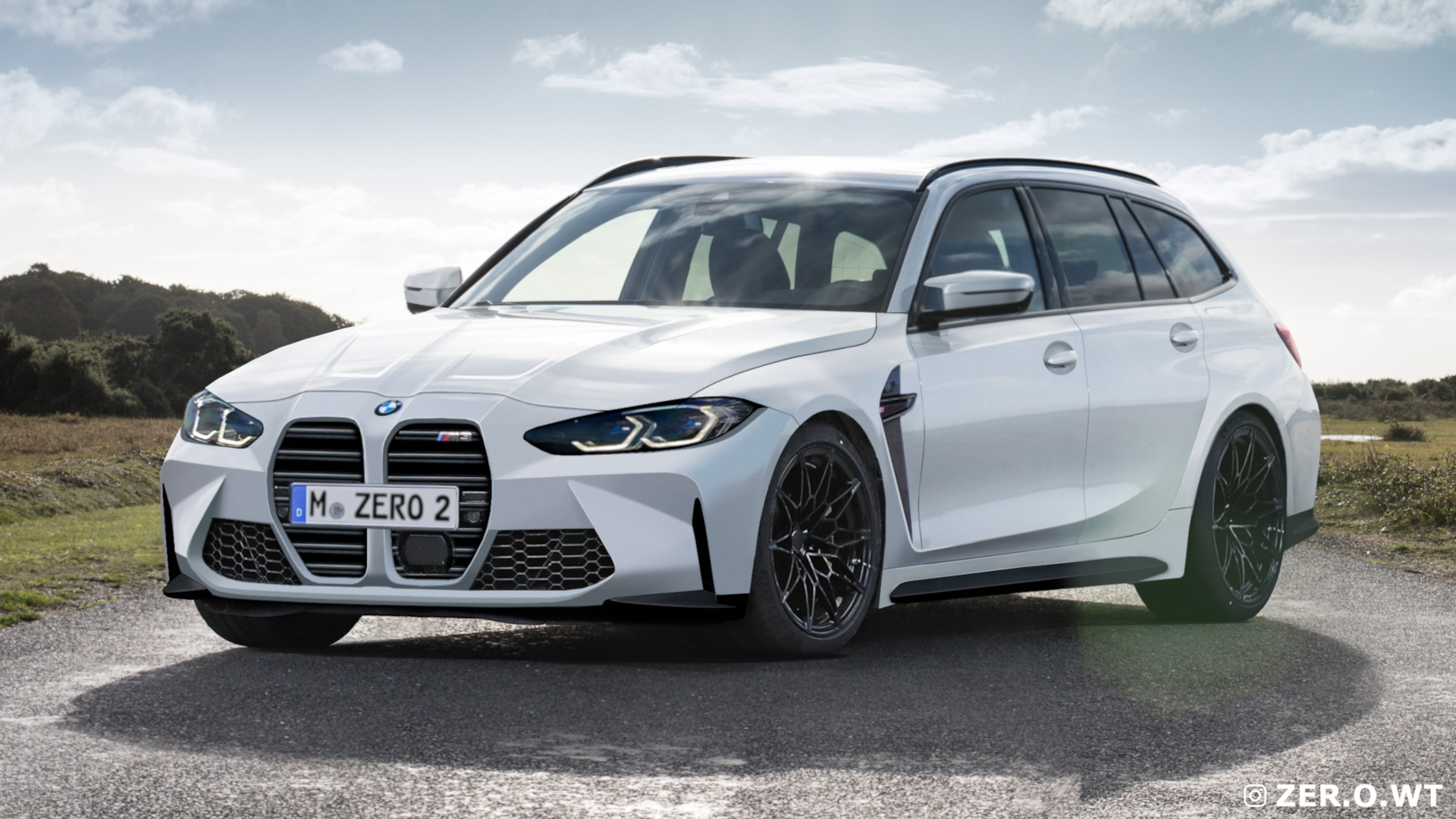Here's An Illustrated Look At The 2022 BMW M3 Touring ...