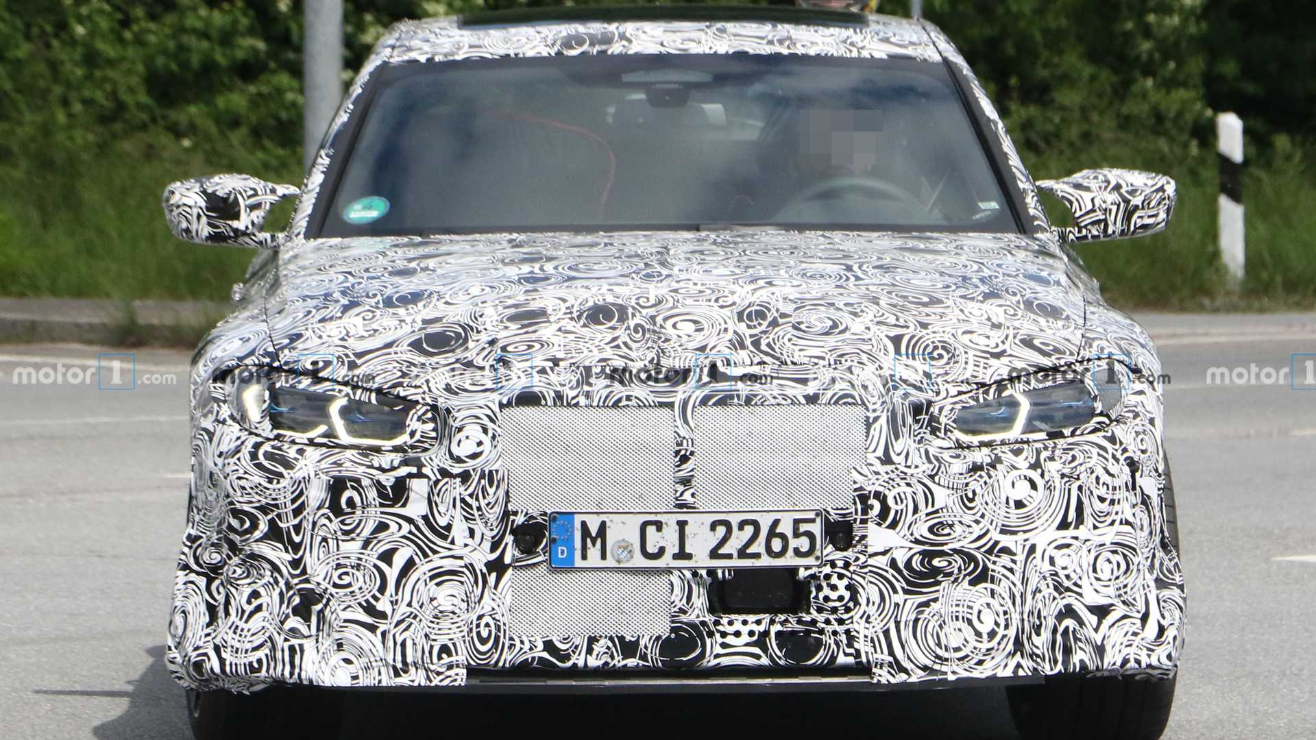 New BMW M3 CS Spied For The First Time, Inside And Out