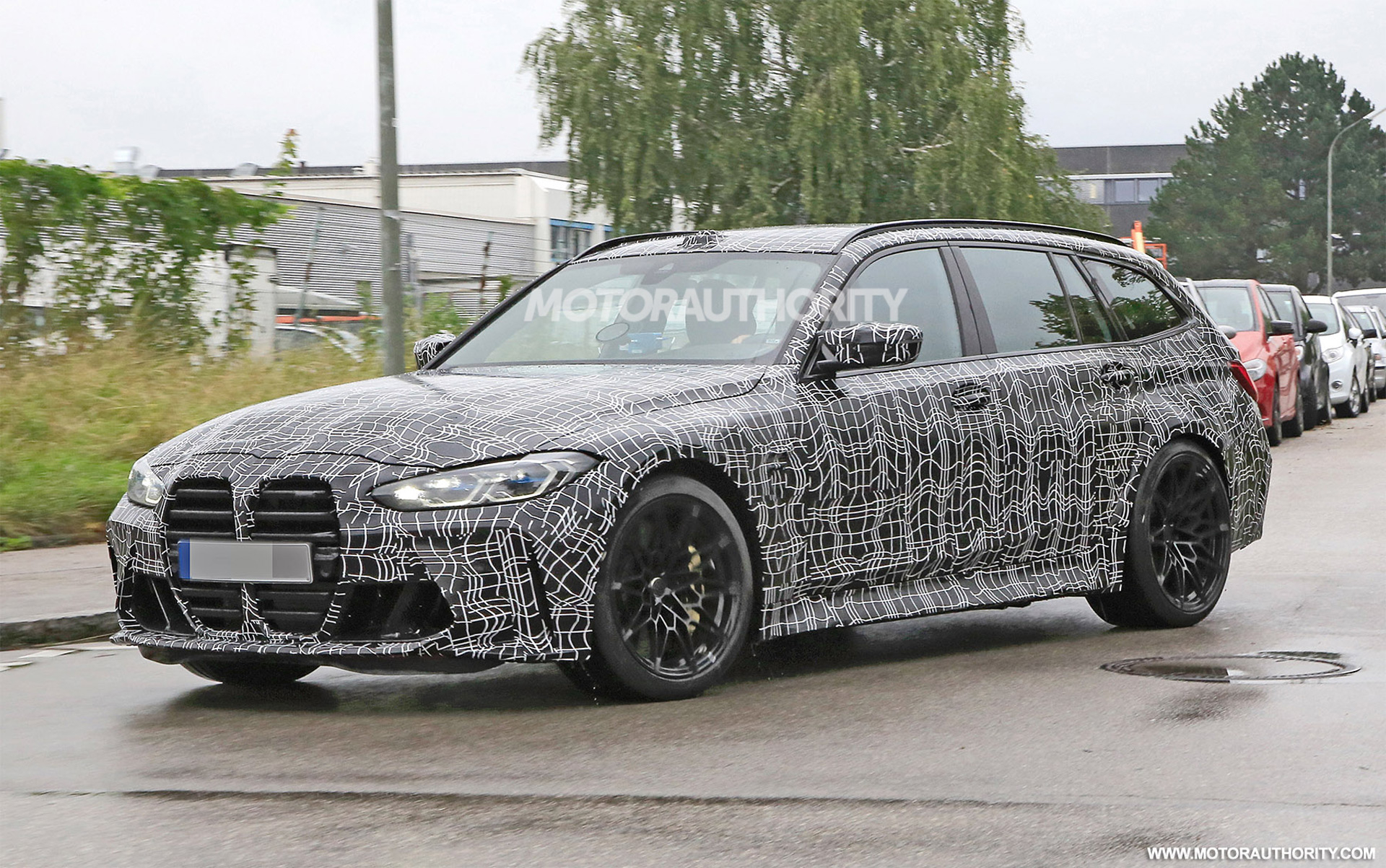 2022 BMW M3 Touring spy shots: Speedy wagon coming, but not ...