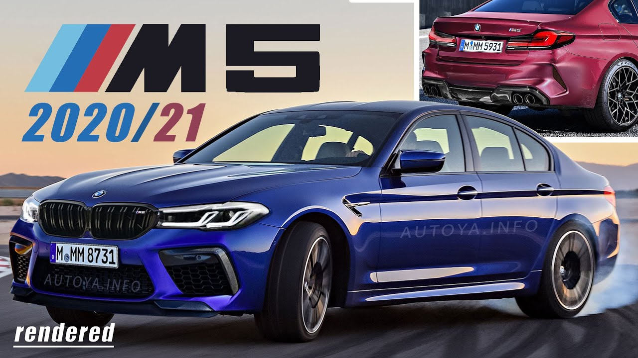 BMW M5 2020 Facelift and 2021 BMW M5 F90 Competition LCI Rendered Based On  NEW BMW G30 2020 Model