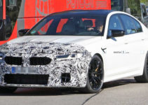 BMW M5 Facelift Makes Spy Photo Debut