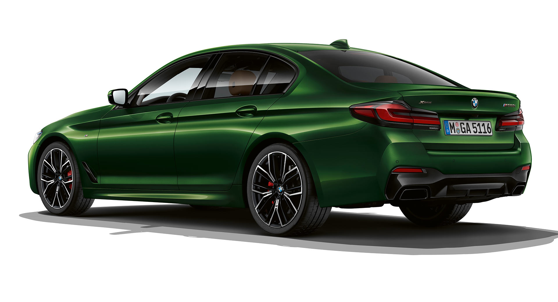 BMW M550i In Verde Ermes Begs The Question: Who Needs An M5 ...