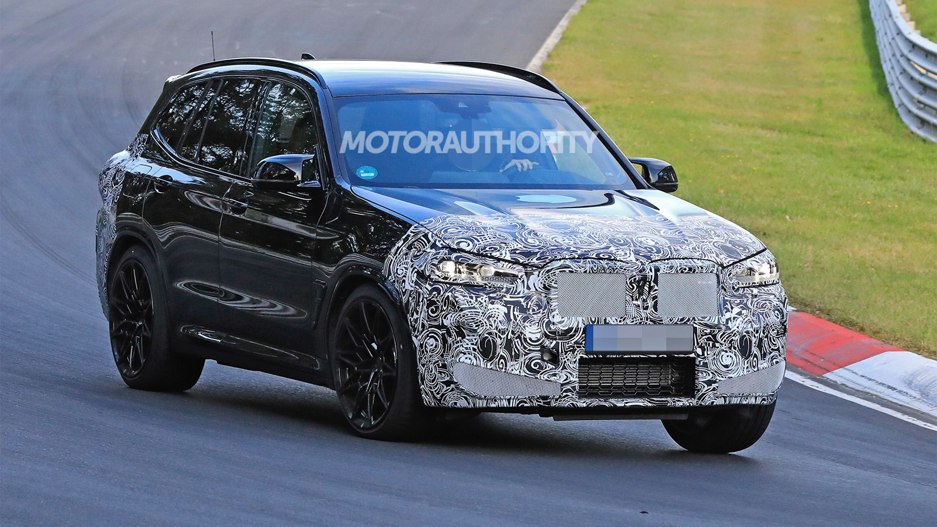 2022 BMW X3 M spy shots: New look coming for high ...