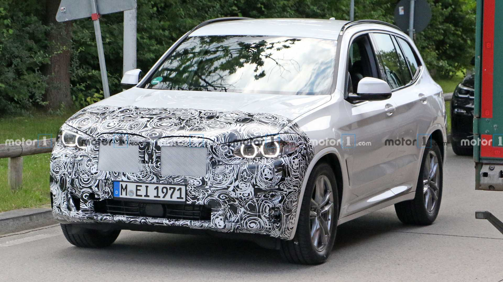 2022 BMW X3 Facelift Spied For The First Time
