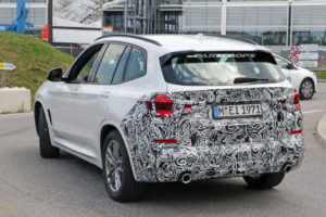 2022 BMW X3 LCI Spied: Time For The Premium Compact SUV To ...