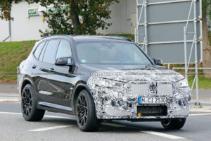 2022 BMW X3 M Facelift Takes To The Nürburgring For Its Spy ...