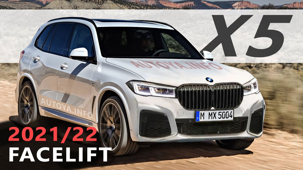 BMW X3 Facelift 2021 or 2022 with G01 LCI Changes in Renders ...