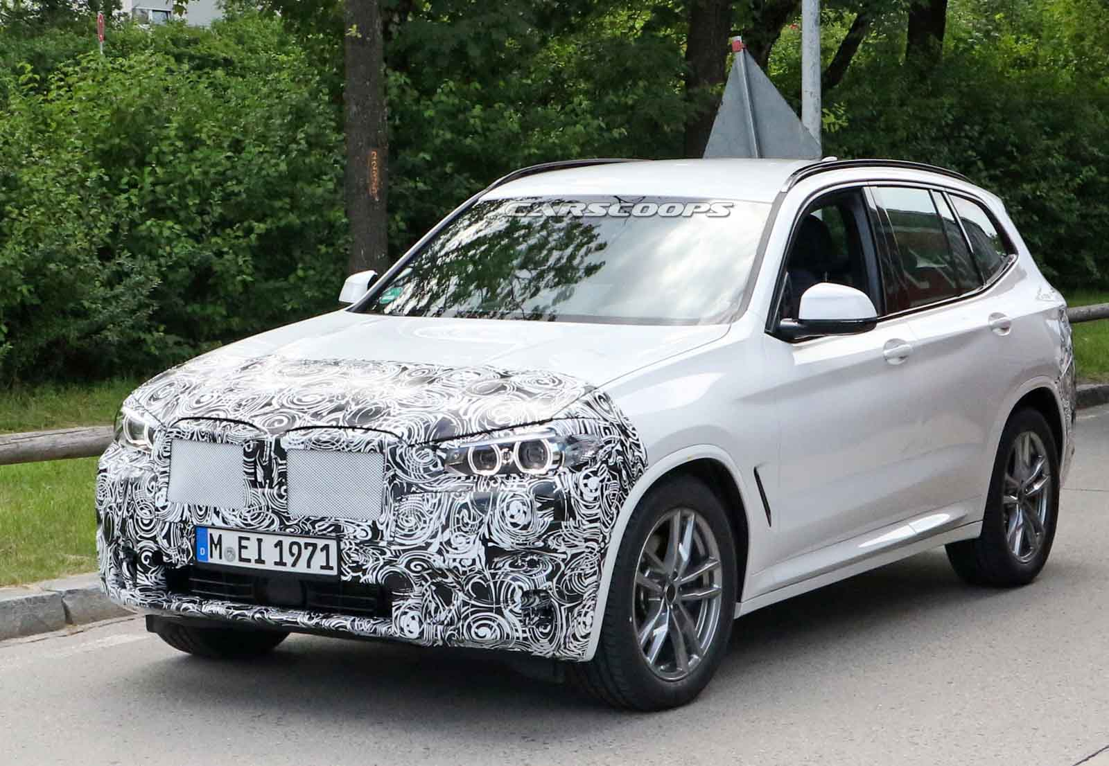 bhparena.com | BMW X3 Facelift Spied On Test, Launch ...