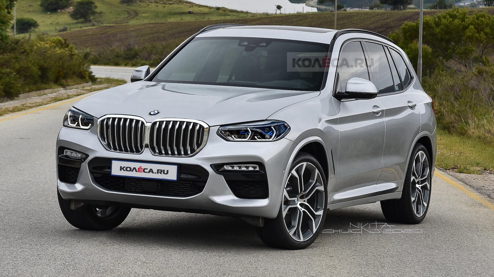 Updated 2022 BMW X3 Imagined, Looks Like a Slightly Smaller ...