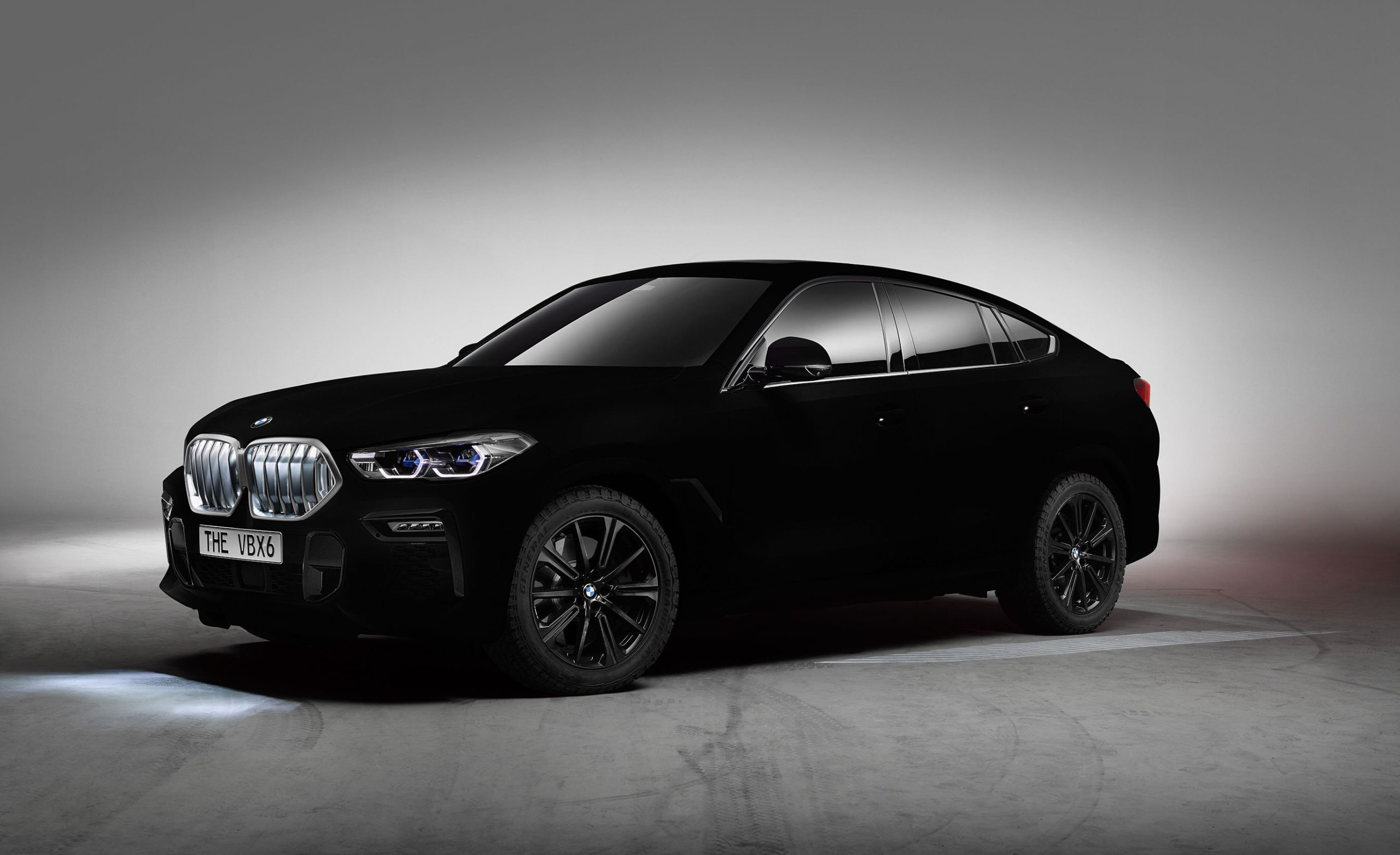 BMW X6 Gets a Blackest of Black Treatment with Paint That ...
