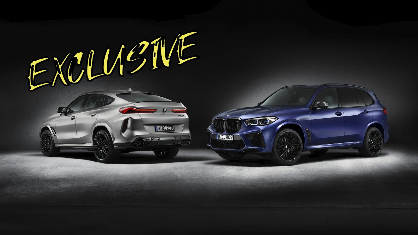 The BMW X5 M and X6 M Competition First Edition Are Too ...