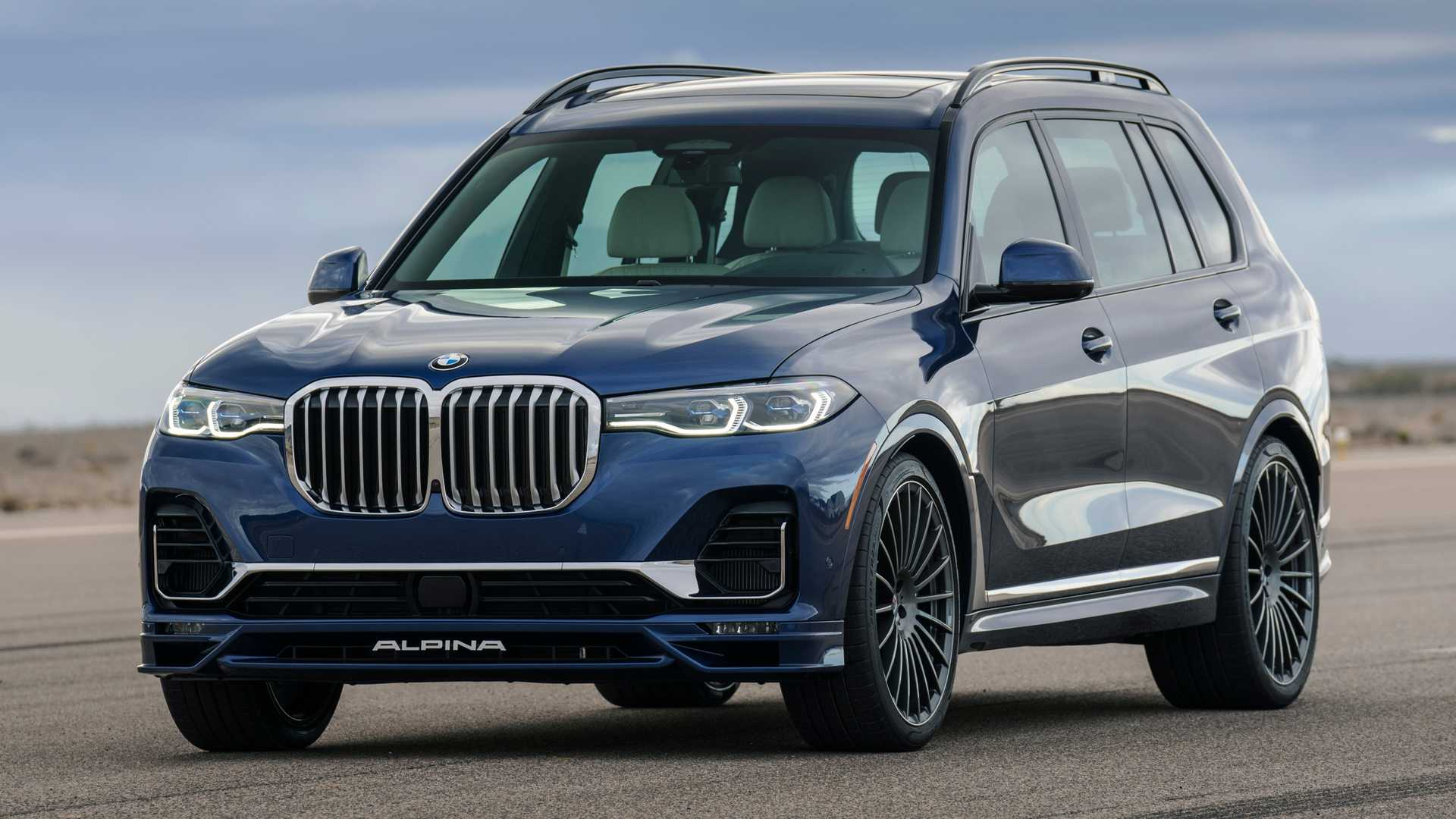 2021 BMW Alpina XB7 Debuts With 612 Horsepower, Costs $141,300