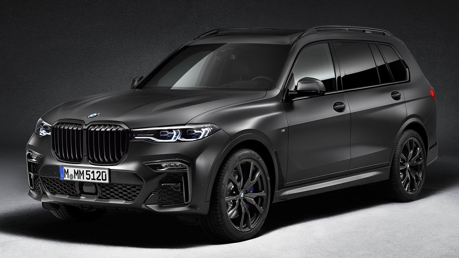 BMW X7 Dark Shadow Edition: El más singular