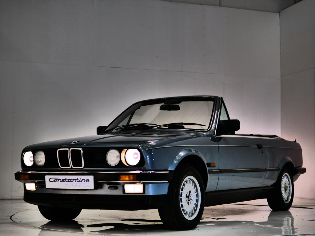 1987 BMW 325i Cab Manual Box Low Mileage One Owner For