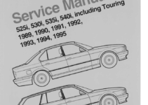BMW 325i 1995 E36 Workshop Manual (459 Pages)