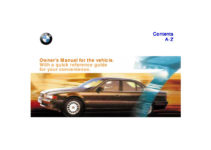 1999 BMW 740i 750iL E38 Owners Manual