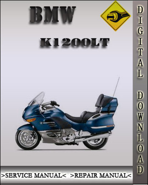 1999 BMW K1200LT Factory Service Repair Manual Tradebit