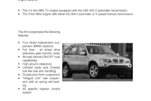BMW X5 2002 E53 Workshop Manual (52 Pages)