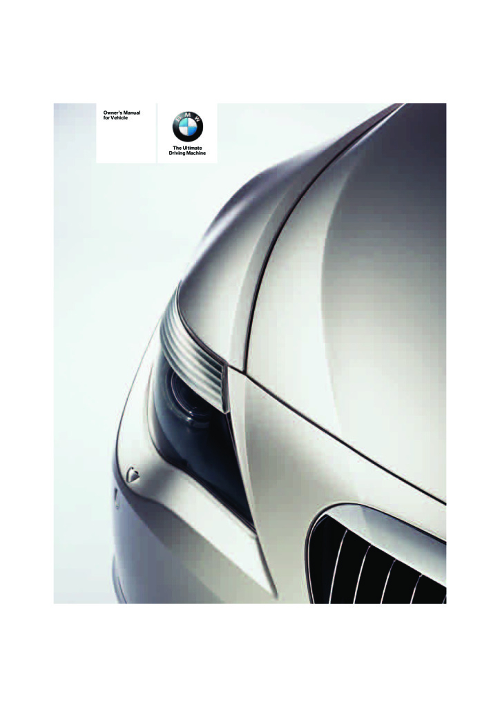 2007 650i Coupe Owners Manual pdf 7 93 MB