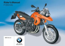 BMW F 650 GS 2nd 2009 Owner s Manual Pdf Online Download