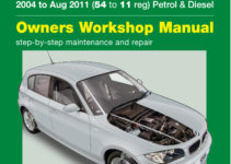 BMW 1-Series 4-cyl Petrol & Diesel (2004-Aug 2011) 54 to 11 Haynes Online  Manual