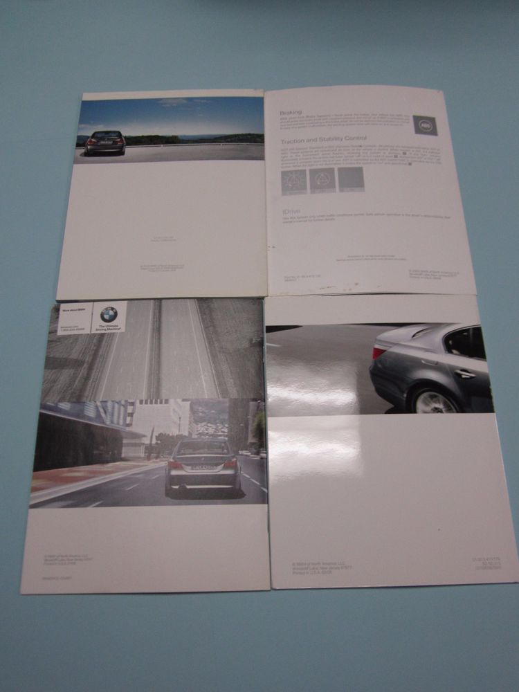 2007 BMW 5 Series 525i 530i 550i 525xi 530xi Owners Manual