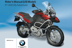 BMW R 1200 GS Adventure US 2007 Owner s Manual PDF