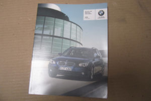 BMW E60 2008 535I OWNERS MANUAL BOOK SET OEM EBay