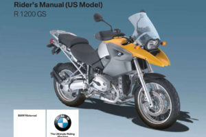 BMW R 1200 GS (US) 2008 Owner's Manual – PDF Download