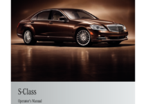 MERCEDES-BENZ S-Class 2011 W221 Owner's Manual (524 Pages)