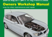 BMW 1-Series 4-cyl Petrol and Diesel (04 - Aug 11) 54 to 11 Haynes Online  Manual