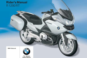 BMW R 1200 RT 1st Edition 2009 Owner's Manual has been ...
