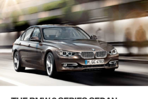 BMW 3 SERIES SEDAN 2013 F30 Owner's Manual (248 Pages)