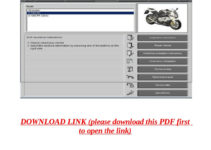 Bmw s1000rr motorcycle service manual (complete) by yghj - issuu