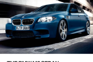 BMW M5 2015 F10M Owner's Manual (239 Pages)