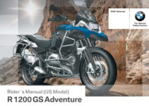 BMW R 1200 GS Adventure 2015 Owner's Manual – PDF Download