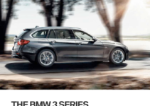 BMW 3 SERIES SPORTS WAGON 2016 F31 Owner's Manual (255 Pages)