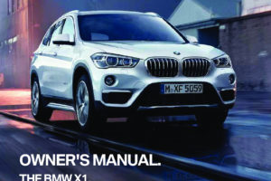 2018 BMW X1 Owners Manual OwnersMan