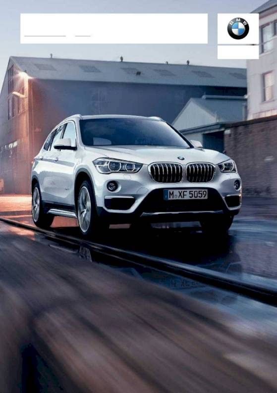 2018 BMW X1 – Owner's Manual – 314 Pages – PDF